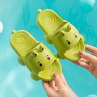 儿童拖鞋 男女童小怪兽拖鞋2021新款夏季可爱卡通男童女童宝宝居家凉拖防滑凉拖鞋子可爱沙滩鞋