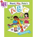 【中商海外直订】Parri, Pip, Pete's ABC Colouring Book