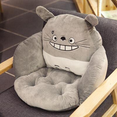 仓鼠坐垫靠垫一体学生屁股垫椅子垫子办公室加厚椅垫女榻榻米冬季  宽55x长39x高45厘米