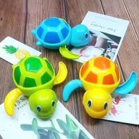 会游泳的小乌龟戏水酷游划水儿童发条洗澡玩具宝宝1-2-3岁 三只酷游乌龟 黄 蓝 绿 1套3只