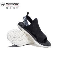 【同款】诺诗兰19新款户外弹力透气便携男凉鞋运动防滑软底沙滩鞋FS085010