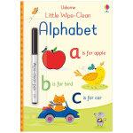 Little Wipe-Clean Alphabet 字母表 可擦可写 3-6岁儿童