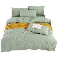 被窝窝柔软舒适床上用品甄选网红床上用品纯色四件套 床单 被套 枕套 Z