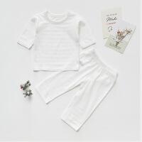 儿童家居服套装男童女童睡衣宝宝纯棉夏季中袖两件套婴幼儿薄款