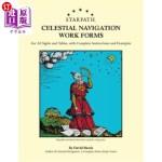 【中商海外直订】Starpath Celestial Navigation Work Forms: For All S