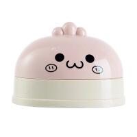 宝宝香皂盒带盖卡通个性小号儿童宝宝创意可爱沥水双层有盖肥皂盒