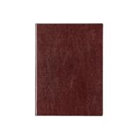得力(deli) 3186 笔记本文具皮面商务记事本A5本子160页加厚办公笔记本 棕色 当当自营