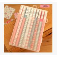 韩国文具 小清新可爱碎花水彩笔彩色中性笔水笔10支套装 包邮
