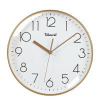 万年历电子钟挂钟客厅 TELESONIC/天王星客厅静音挂钟万年历电子钟表北欧风简约日历时钟