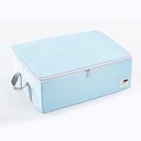 布艺衣服收纳箱有盖衣物收纳盒恤收纳盒子储物盒整理箱折叠 46x33x16cm