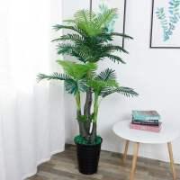 仿真植物盆栽假发财树客厅假树室内装饰仿真树落地花假花大型绿植