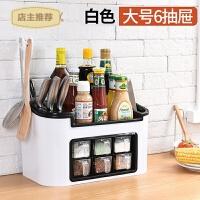 厨房置物架 调味料收纳用品用具小百货 省空间收纳盒神器SN4787