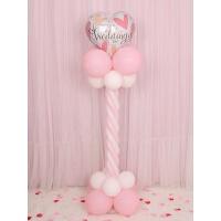 气球支架结婚用品装饰婚礼路引酒店场地布置立柱气球造型开业生日晚会派对 花色 婚礼爱心立柱一个