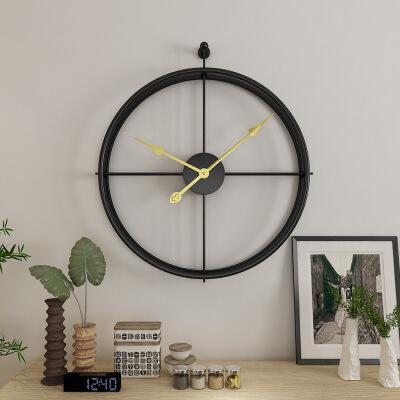 欧式钟表挂钟客厅个性创意时尚现代简约大气时钟艺术家用卧室挂表  其他