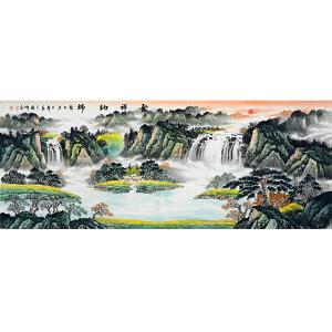 中国美协会员,中国书协会员,龙云书画院院长侯桂峰(聚祥纳瑞)23