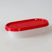 特百惠纤巧椭圆盒MM干货储藏盒密封零食圆罐迷你收纳盒保鲜