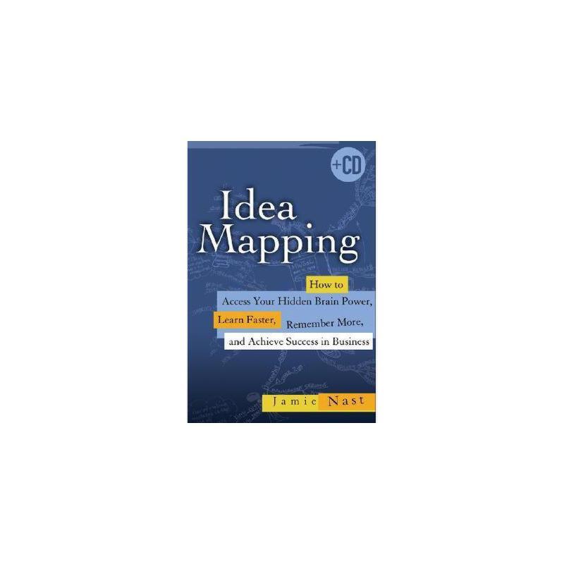 【预订】Idea Mapping: How to Access Your Hidden Brain Power, Learn Faster, Remember More, and Achieve Su 美国库房发货,通常付款后3-5周到货!