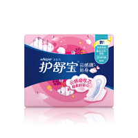 【宝洁】护舒宝云感棉贴身量多日/夜用10片卫生巾