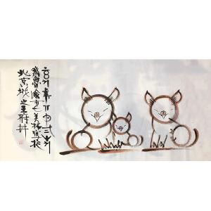 山东人,中国当代极具影响力的天才造型艺术家韩美林(猪)32