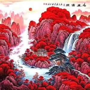 国家一级美术师,中国书画家协会会员周章才(鸿运当头)59