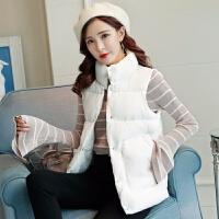 卫衣+马甲秋冬季女装短款韩版女士显瘦大码无袖背心外套
