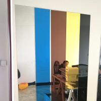 亚克力墙贴自粘3d立体长条腰线客厅镜面墙贴电视背景墙装饰边框条 中