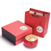 单罐茶叶礼盒空盒装黑枸杞红绿茶普洱通用包装陶瓷密封罐厂家