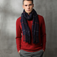 男士半高领毛衣潮秋冬韩版套头加厚宽松针织打底羊毛衫圆领男线衣