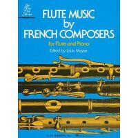 【预订】Flute Music by French Composers