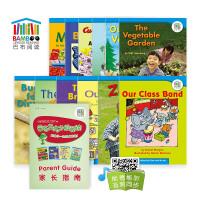 巴布英语英文分级阅读英文原版进口图书启蒙2(12册图书+3操作手册+音频)3-5岁