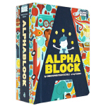 【Block】Alphablock,字母书 英文原版