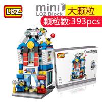 LOZ/俐智小颗粒积木迷你街景益智拼插儿童玩具拼装模型男女孩成人