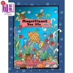【中商海外直订】Magnificent Sea Life: Coloring Book-50 unique image