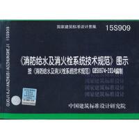 15S909《消防给水及消火栓系统技术规范》图示 中国建筑标准设计研究院 中国计划出版社