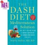 【中商海外直订】The Dash Diet Mediterranean Solution: The Best Eati
