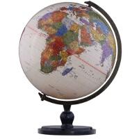 【TH】博目地球�x:25厘米中英文政�^仿古地球�x(炫影黑架) 本社 �y�L出版社 9787503031632