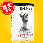 现货 银行4.0 布莱特金著 Bank 4.0: Banking Everywhere银行2.0 3.0作者新作 移动
