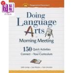 【中商海外直订】Doing Language Arts in Morning Meeting: 150 Quick A