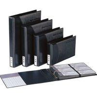 齐心A1613活页商务名片册 4孔夹600张名片册 A4名片册