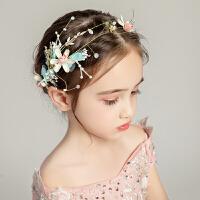儿童发饰头饰花环饰品礼服配饰彩色花冠头箍表演发箍