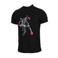 Adidas阿迪达斯 男装 运动休闲透气篮球短袖T恤 DZ1871
