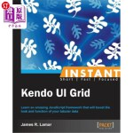 【中商海外直订】Instant Kendo Ui Grid How-To