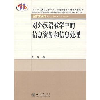 重大项目成果丛书—对外汉语教学中的信息资源和信息处理