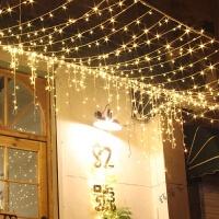 LED30米50米彩灯闪灯庭院装饰节日灯串浪漫串灯满天星防水卧室