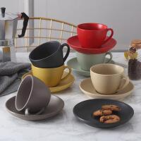 情侣咖啡杯一对创意欧式小陶瓷下午茶杯套装意式拉花咖啡套具