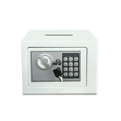 储蓄柜储蓄罐存钱箱金属投币大号儿童电子密码保险柜17cm家用