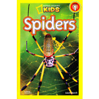 National Geographic Readers, Level 1: Spiders 美国《国家地理》杂志-儿童