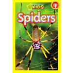 National Geographic Readers, Level 1: Spiders 美国《国家地理》杂志-儿童科普分级阅读,第1级:蜘蛛 ISBN 9781426308512