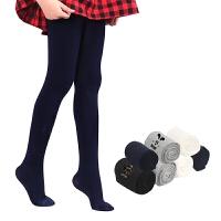 女童打底裤春秋白色女孩长袜子学生舞蹈袜宝宝黑色裤袜儿童连裤袜