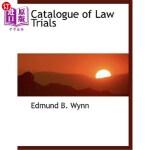 【中商海外直订】Catalogue of Law Trials